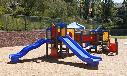 Playground of pacific preschool at San Elijo Hills