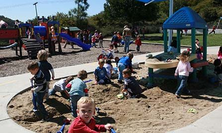 Kids enjoying at pacific preschool at Laguna Niguel