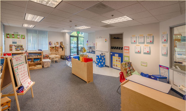 Class room of Pacific Preschool & Kindergarten