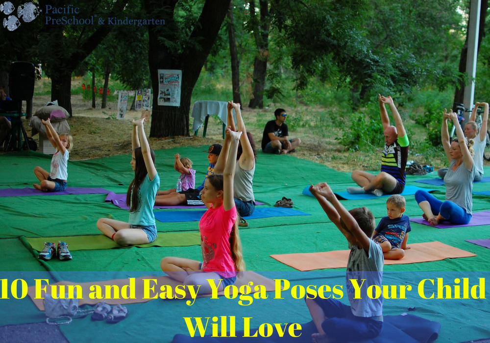 Yoga Poses Your Child Will Love
